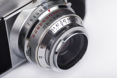 Old camera closeup Royalty Free Stock Photography