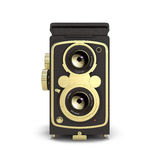 Old camera  3d rendering Royalty Free Stock Image