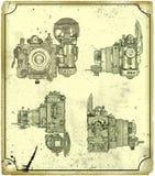 Old camera. vector illustration
