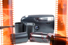 Old camera,film Stock Image