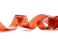 Old camera film strip Stock Images