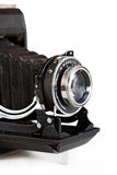 Old camera isolated Stock Photography