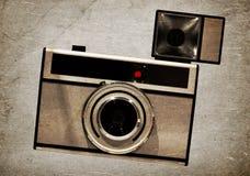 Old camera, isolated Royalty Free Stock Photo