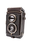 Old camera isolated Royalty Free Stock Photography