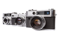 Old camera isolated Royalty Free Stock Photo