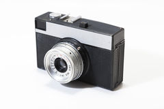 Old camera isolated Stock Image
