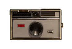 Old camera, isolated Royalty Free Stock Image
