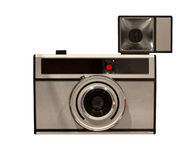 Old camera, isolated Royalty Free Stock Photography