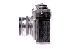 Old camera on isolated white Stock Image