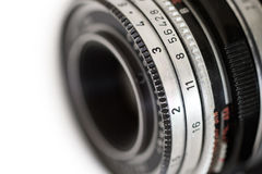 Old camera lens Stock Photography