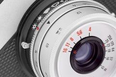 Old camera lens. royalty free stock image