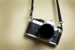Old Camera and Lens for Photography Royalty Free Stock Photos