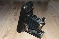 Old foto camera Royalty Free Stock Photo