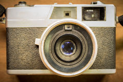 Old camera retouching Vintage Stock Image