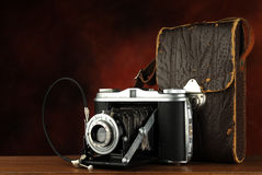 Old Camera Set Royalty Free Stock Photo