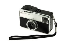 Old camera with strap Stock Image