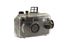 Old camera underwater Royalty Free Stock Photography