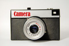Old camera, which made in USSR Stock Images