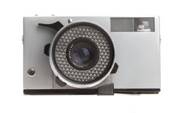 Old camera on a white background Royalty Free Stock Images