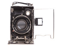 Old camera on a white background Royalty Free Stock Photos