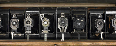 Old Cameras Royalty Free Stock Image