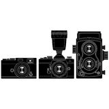 Old Cameras Royalty Free Stock Images