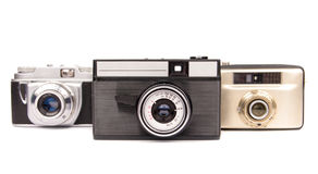 Old cameras Stock Photos