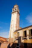 Old campanile in Venice Royalty Free Stock Images