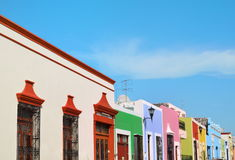 Old Campeche City in Mexico colonial architecture Royalty Free Stock Image