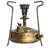 Old camping stove (primus) Stock Photos