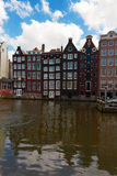 Old canal of Amsterdam Royalty Free Stock Photo
