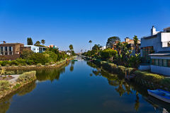 Old canals of Venice in California, Stock Photo