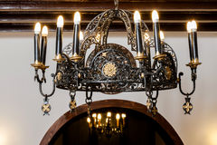 Old candelabrum Royalty Free Stock Photo