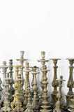 Old candlesticks Royalty Free Stock Photos
