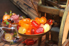 Old candy store Royalty Free Stock Photography