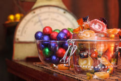Old Candy Store Royalty Free Stock Image