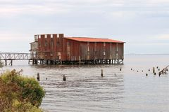 Old Cannery Stock Photography