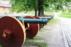 old cannon Stock Images