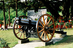 Old Cannon. This is a photo of old cannon used by British Army in India Royalty Free Stock Image