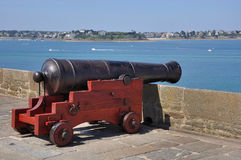 An old cannon Stock Photo