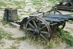 An old cannon Stock Image