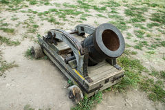 An old cannon Royalty Free Stock Image