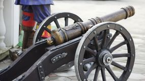 Old cannon Royalty Free Stock Photo