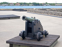 Old cannon in a fort Stock Photos