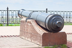 Old cannon in fortifications Royalty Free Stock Photos