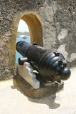 Old cannon, historic weapon Royalty Free Stock Images