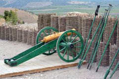 Old cannon Royalty Free Stock Image
