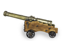 Old Cannon Model Royalty Free Stock Images