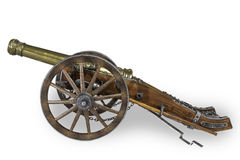 Old Cannon Model Stock Images