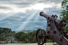An old cannon Royalty Free Stock Photo